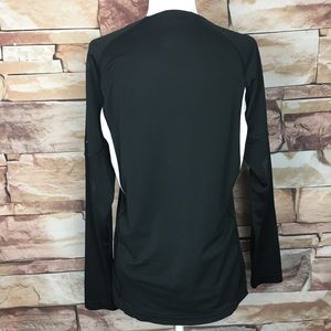 Nike Tops - Nike | Fit Team Training Black Long Sleeve Shirt